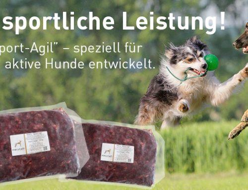 "Neues Menü !! ""Sport-Agil"""